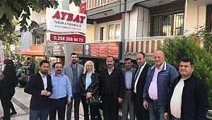 MHP Camiası Aybay Çiftini Unutmadı