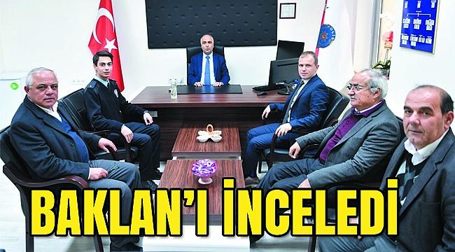 VALİ KARAHAN'DAN  BAKLAN ZİYARETİ