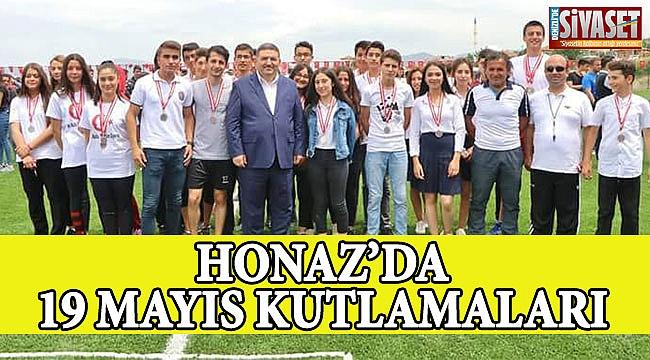 HONAZ'DA 19 Mayıs coşku ile kutlandı