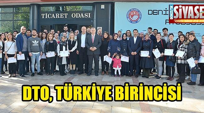 DTO, Türkiye birincisi