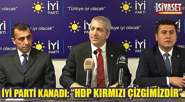 """İyi Parti kanadı: """"HDP kırmızı çizgimizdir"""""""