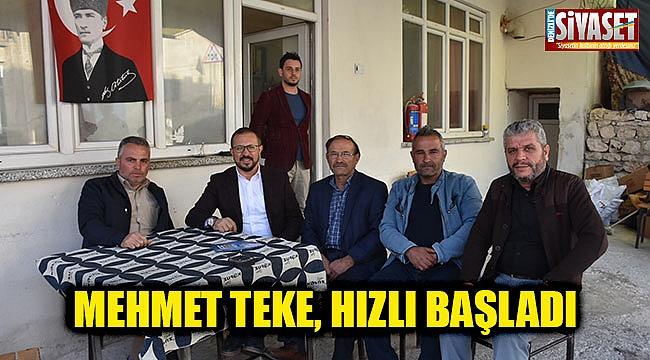 Mehmet Teke, hızlı başladı