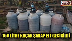 Sarayköy'de kaçak içki operasyonu