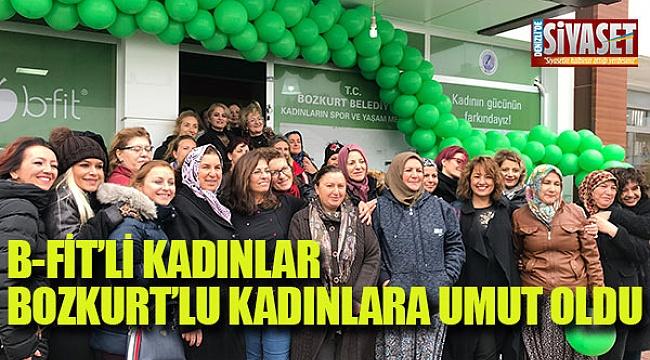 B-Fit'li kadınlar Bozkurt'lu kadınlara umut oldu