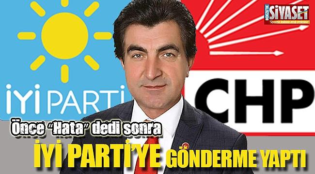 CHP'li İçen'den manidar paylaşım geldi