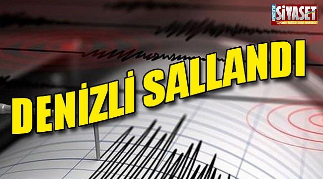 Denizli'de deprem korkuttu