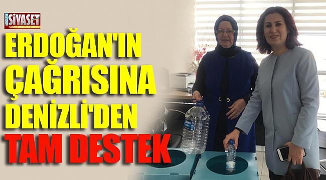 Erdoğan'ın çağrısına Denizli'den tam destek