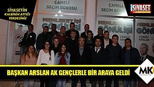 Başkan Arslan AK gençlerle bir araya geldi