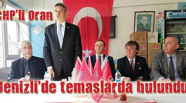 CHP'li Oran, CHP'yi