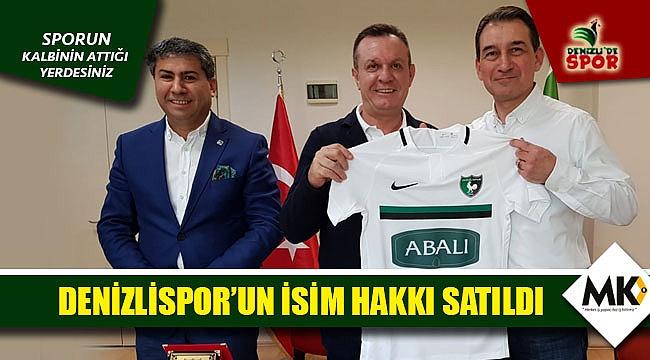Denizlispor'un isim hakkı satıldı