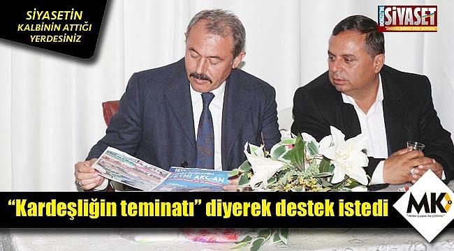 AK Partili vekil Tin'den Akcan'a destek