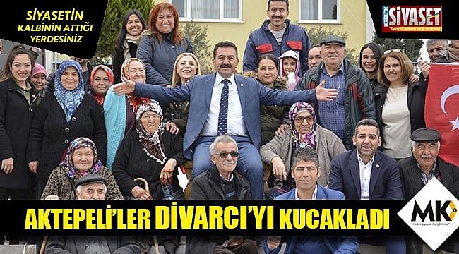 Aktepeli'ler Divarcı'yı kucakladı