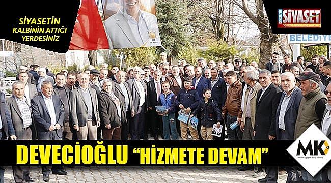 """Devecioğlu """"Hizmete devam"""""""