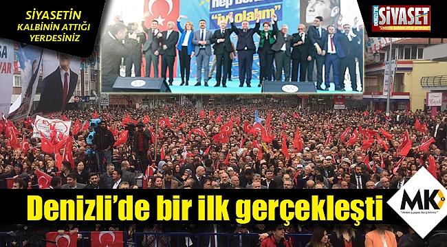 Kılıçdaroğlu ve Akşener onbinlere seslendi
