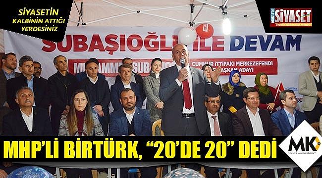 MHP'li Birtürk,