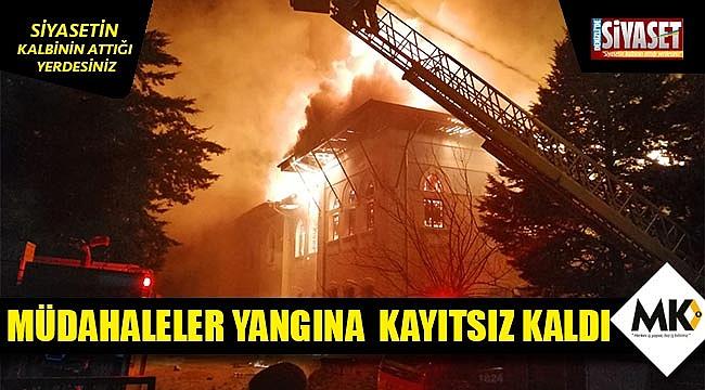 Müdahaleler yangına  kayıtsız kaldı