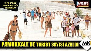 Pamukkale'de turist sayısı azaldı