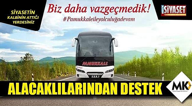 Pamukkale Turizme alacaklılarından destek