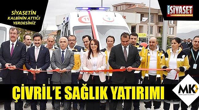Tam donanımlı ambulanslar Çivril'in hizmetinde
