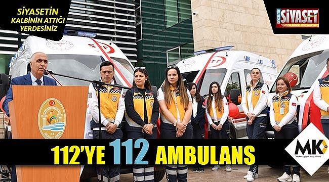 112'ye 112 ambulans