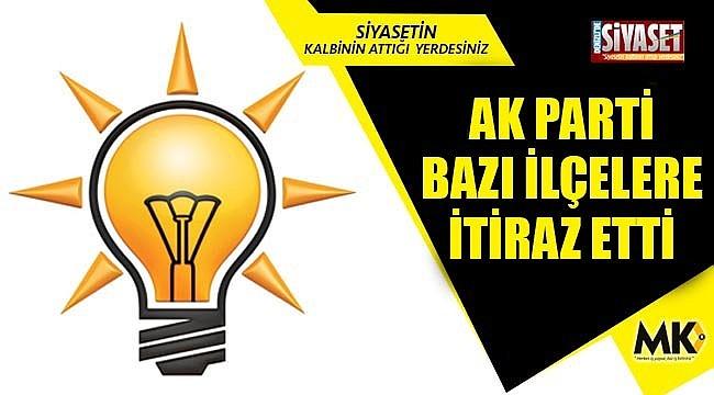 AK Parti, bazı ilçe sonuçlarına itiraz etti