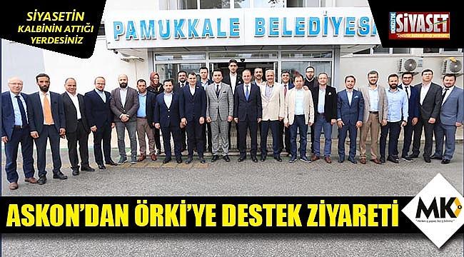 ASKON'dan Örki'ye destek ziyareti