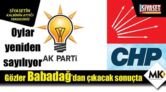 Babadağ'da oy sayımı başladı