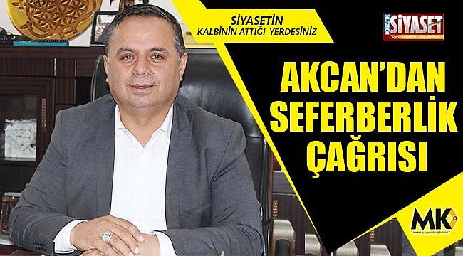 Başkan Akcan, çiftçilerin sorunlarını dile getirdi