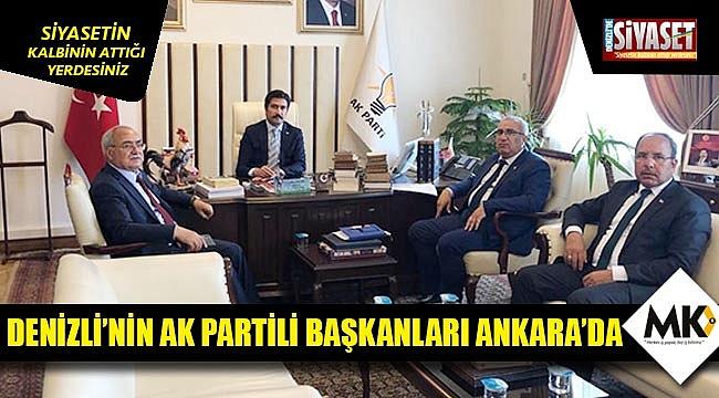 Denizli'nin AK Partili başkanları Ankara'da