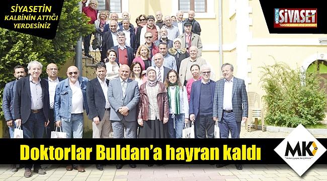 Doktorlar Buldan'a hayran kaldı