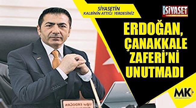 Erdoğan, 18 Mart Şehitleri Anma Günü'nü ve Çanakkale Zaferi'ni unutmadı