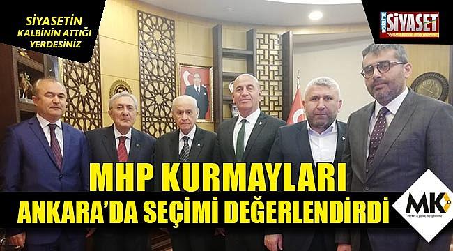 MHP kurmayları Ankara'da seçimi değerlendirdi