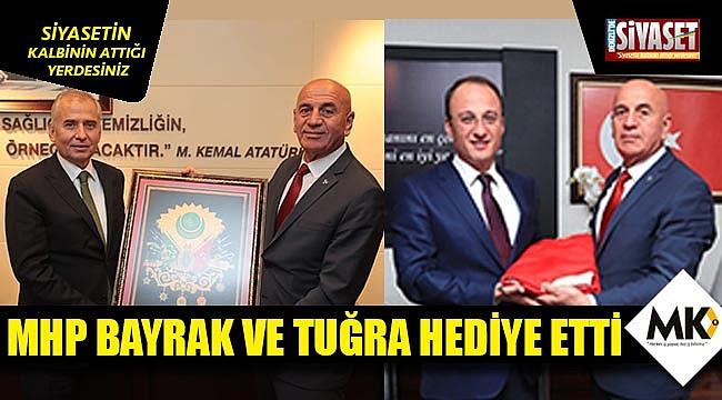 MHP yeni başkanlara destek verdi