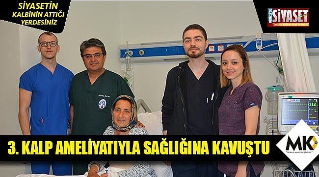 3. kalp ameliyatıyla sağlığına kavuştu