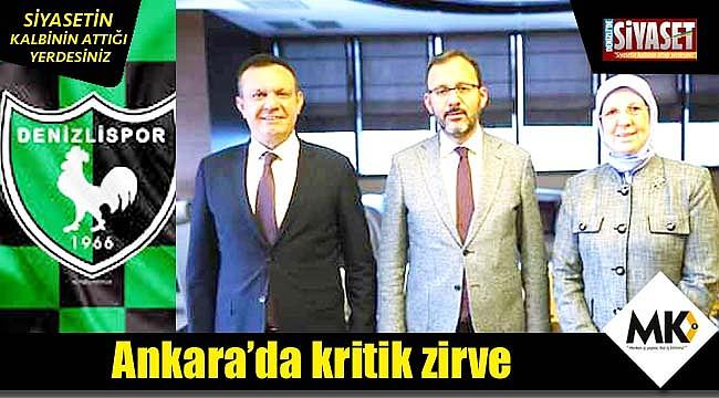 Ankara'da kritik zirve