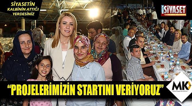 Başkan Doğan, Mehmet Akif Ersoy Mahallesi'nde iftarda