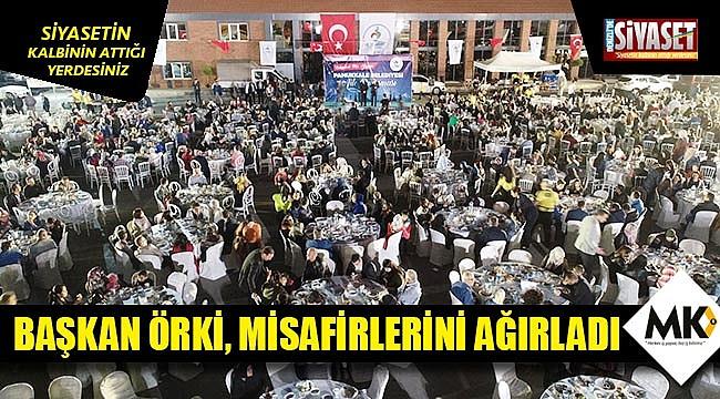Başkan Örki, misafirlerini ağırladı