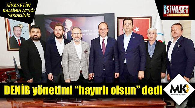 Başkan Örki'ye ziyaretler sürüyor