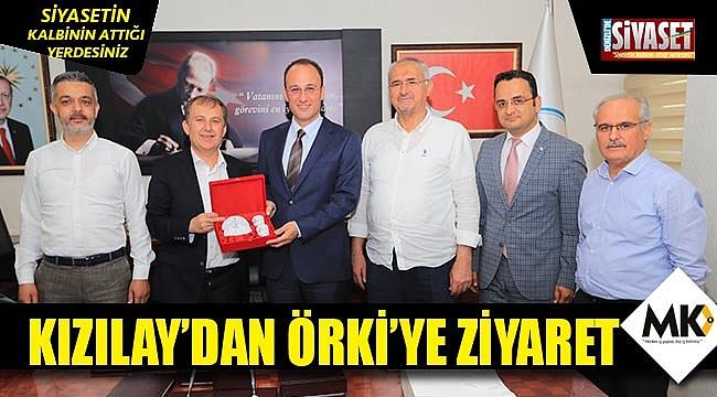 Kızılay'dan Örkiye ziyaret
