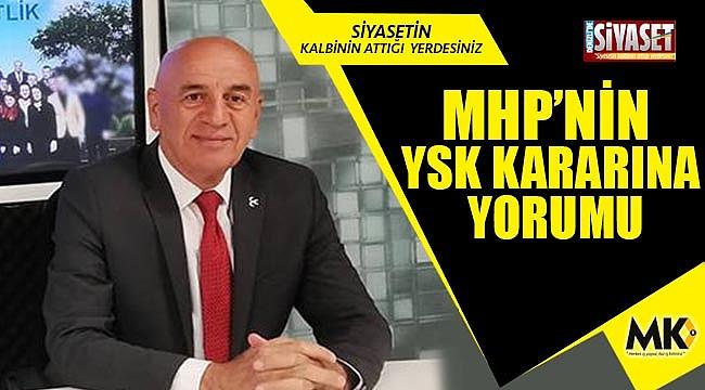 MHP kanadı: Hak yerini buldu