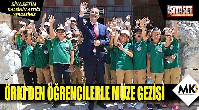 """Örki, """"Müzeler, tüm vatandaşlarımızı bekliyor"""""""