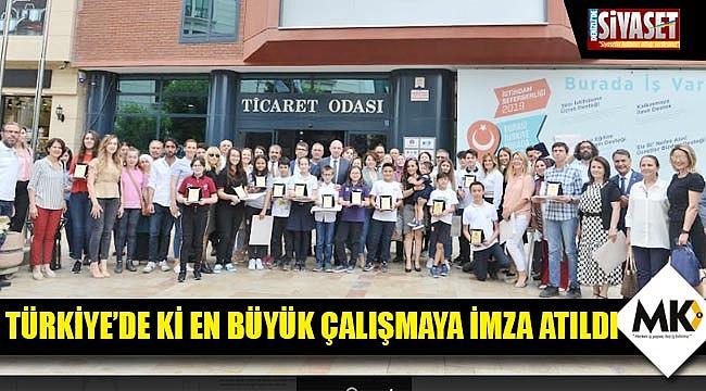 Türkiye'de ki en büyük çalışmaya imza atıldı
