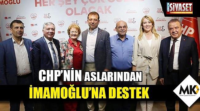 CHP'nin aslarından İmamoğlu'na destek
