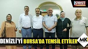 Denizli'yi Bursa'da temsil ettiler