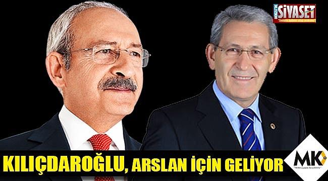 Kılıçdaroğlu, Arslan için geliyor