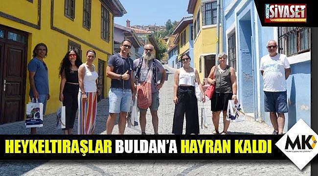 Heykeltıraşlar Buldan'a hayran kaldı