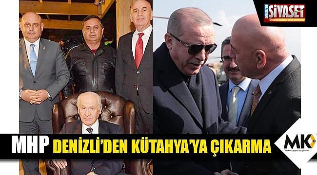 MHP Denizli'den Kütahya'ya çıkarma