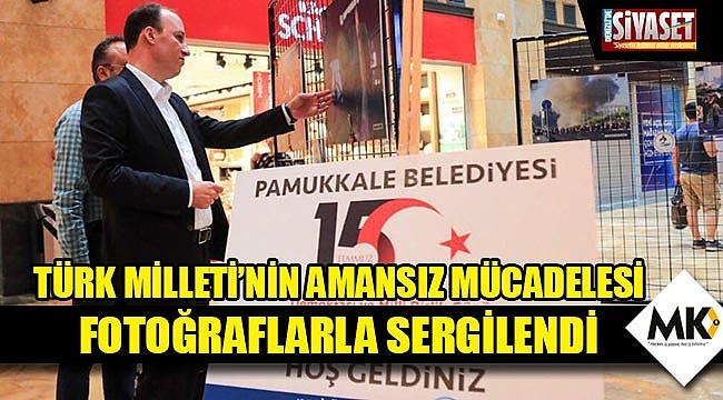 Türk Milleti'nin amansız mücadelesi fotoğraflarla sergilendi