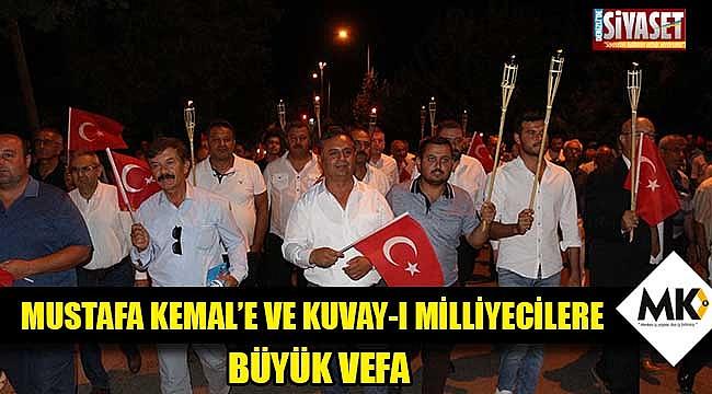 Mustafa Kemal'e ve Kuvay-ı Milliyecilere büyük vefa