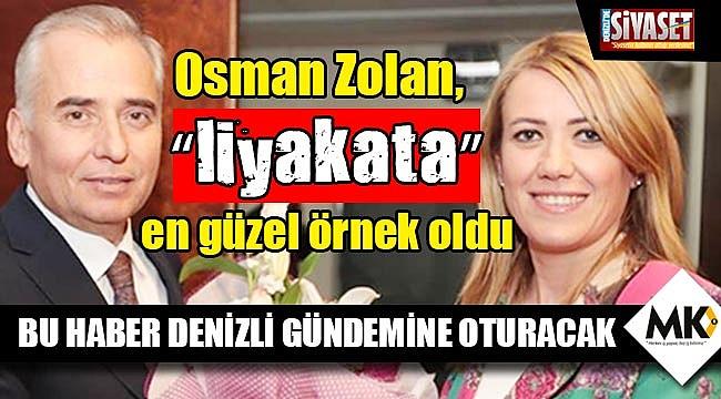 """Osman Zolan, """"liyakata"""" en güzel örnek oldu"""